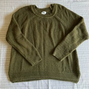 Olive green Old Navy sweater